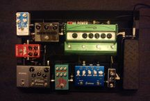 PedalBoards #1 & #2 - Past & Present / Different boards I've had over the years .
