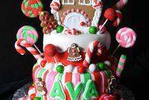 christmas birthday cakes kids