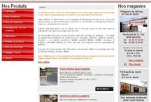 Magasin - Sites Internet / Sites Internet crées par Cognix Systems, agence web située à Rennes et Brest, pour des magasins ou des boutiques