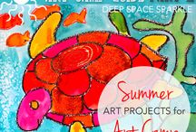 Seasonal: Summer Projects and Workshops for Art