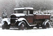 Antique Dump Trucks / Collection of Antique Dump Trucks