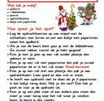 Sinterklaas spel/verhaal