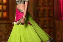 A Special Treat / Get groomed in Lehenga giving out a sensual touch to your charm.