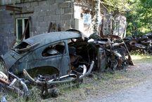 Car cemetery / Bilkirkegård