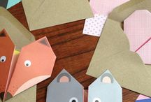 origami and paper folding / Origami paper folding