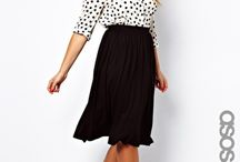 Plus size fashion - skirts / by Pixie Caramel