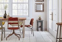 Space: Interiors / dining, bedroom, office, bathroom  / by Bakers Royale   Naomi