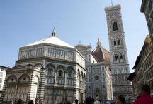 Florence (Firenze) / De mooiste foto's van Florence in Italie. Foto's van bezienswaardigheden, musea, gebouwen en parken in Florence (Firenze).