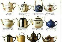 Tea pots, teekannuja