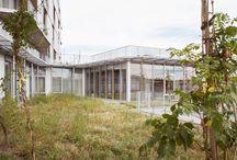 Szkoły ogród na dachu