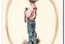 Western Cowboy Wall Decor Art Print Posters