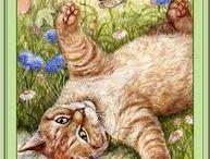 Chats souris chiens / peinture