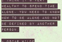 Text & Inspiration & Random things