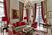 Decorating - Red accents