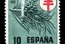 Sellos Españoles 1950-1959