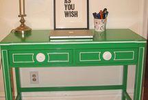 Inspiration: Craft room / by Betsy Harrahy