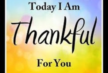 Thankful For..... / My Daily Gratitude Diary, Starting beginning 2013. Everyday I WILL find something to be grateful for.