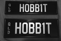 Hobbit personalised QLD number plates lord of the rings