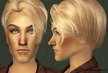 TS2 - CAS - Hair - Male