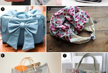 diy ideas / bags, clothes and objects