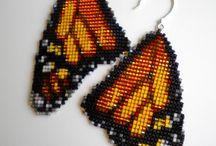 gyöngyszövés - loom / square stitch