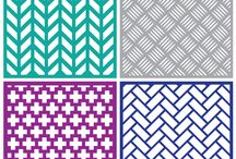 Svg pattern cuts