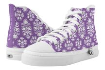 Zipz Custom Shoes / These great new shoes available via Zazzle have interchangeable tops that zip off.  Customize to match your wardrobe!