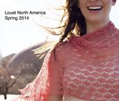 2014 Spring Pattern Collection from Louet North America / This collection includes patterns for Louet GEMS Fingering and Sport, and Louet Euroflax Lace and Sport. Find each of these patterns online through Ravelry, or visit your local yarn store to buy a print copy.