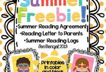 SCHOOL - Summer reading / by Jo Jo Tse