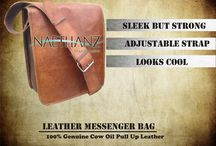 "MESSENGER BAG / Model no. : MSL032 Color	Brown Type	Messenger  bag Size	: 14"" X 11"" X 5"" Leather	100% Genuine Cow Oil Pullup Leather AFFAIR	Formal/Casual  Additional features •	Small in size but very strong  •	Gives a rugged and tough appearance  •	Very versatile goes with every look •	Nice and clean stiches •	Available in any pantone shades  •	Looks stylish and cool"