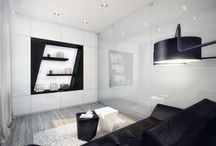Amazing And Luxury Black And With Living Room Theme Design Ideas