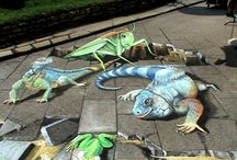 #3D Street Art / by Dan Fiegert