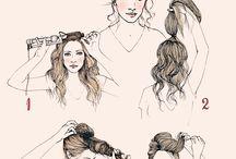 Hair — tutorials