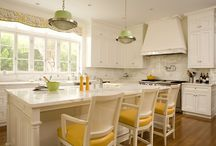 Kitchen Island chairs / by Tina Whyte