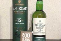 Whisky und Weinregale / Whisky aus meiner Sammlung und Weinragale zur Aufbewahrung von Whisky