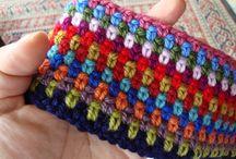 crocheting & knitting / by Rosa Macias-Yescas