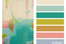 Color / Color combinations for your design needs. / by Ashley Mullen - Forgetful Momma