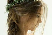 Ideeën bruidskapsel E