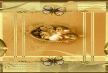 Lente en Pasen creatie,s