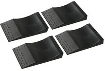 PAR0K RIGHT® Flat Free Tire Ramps Package of 4 / Protect your tires!