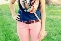 Outfits / by Morgan Sheckler