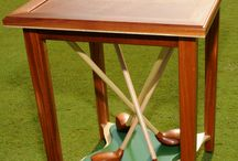 Custom Furnishings / Newport ~ Custom Golf Side Table ~ Designed by Brad Schnur ~ Stained or Painted  / by Brad Schnur