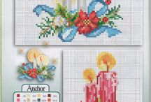 Cross stitch navidad