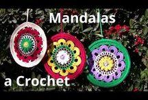 Mandalas a crochec