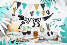 Throw a Dino Party! / To throw an amazing dinosaur birthday party!
