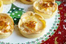 Ricette - Mini torte (pesce) + quiche + tartellette