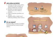 pokusy, malý vědec, experimenty