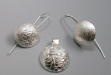 Reticulated Silver Jewelry / Reticulated Silver Jewelry created by Ellen Lyons Jewelry Designs.   Handmade fine art jewelry in Seattle, Washington, USA