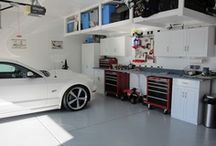 Garage / Ylähylly