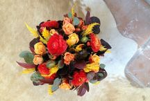 Fall flowers  / Fall centerpiece ideas